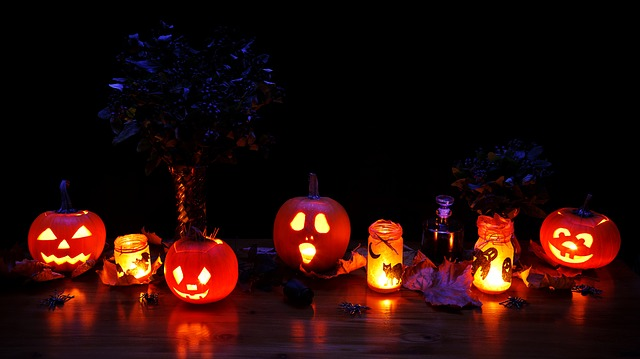 home security for halloween