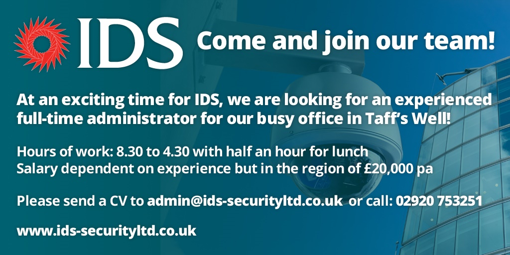 IDS Job Vacancy