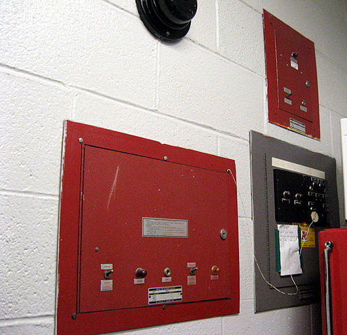 School fire alarm system